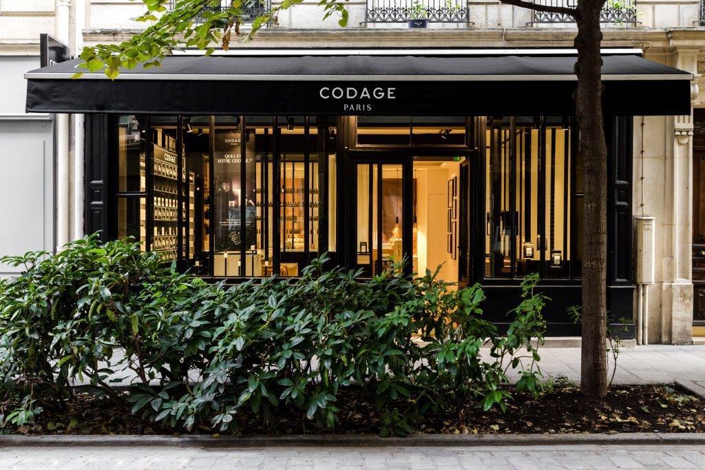 CODAGE Paris, Boutique Codage, Marais, Paris, boutique Paris, bien être, bonnes adresses paris, façade