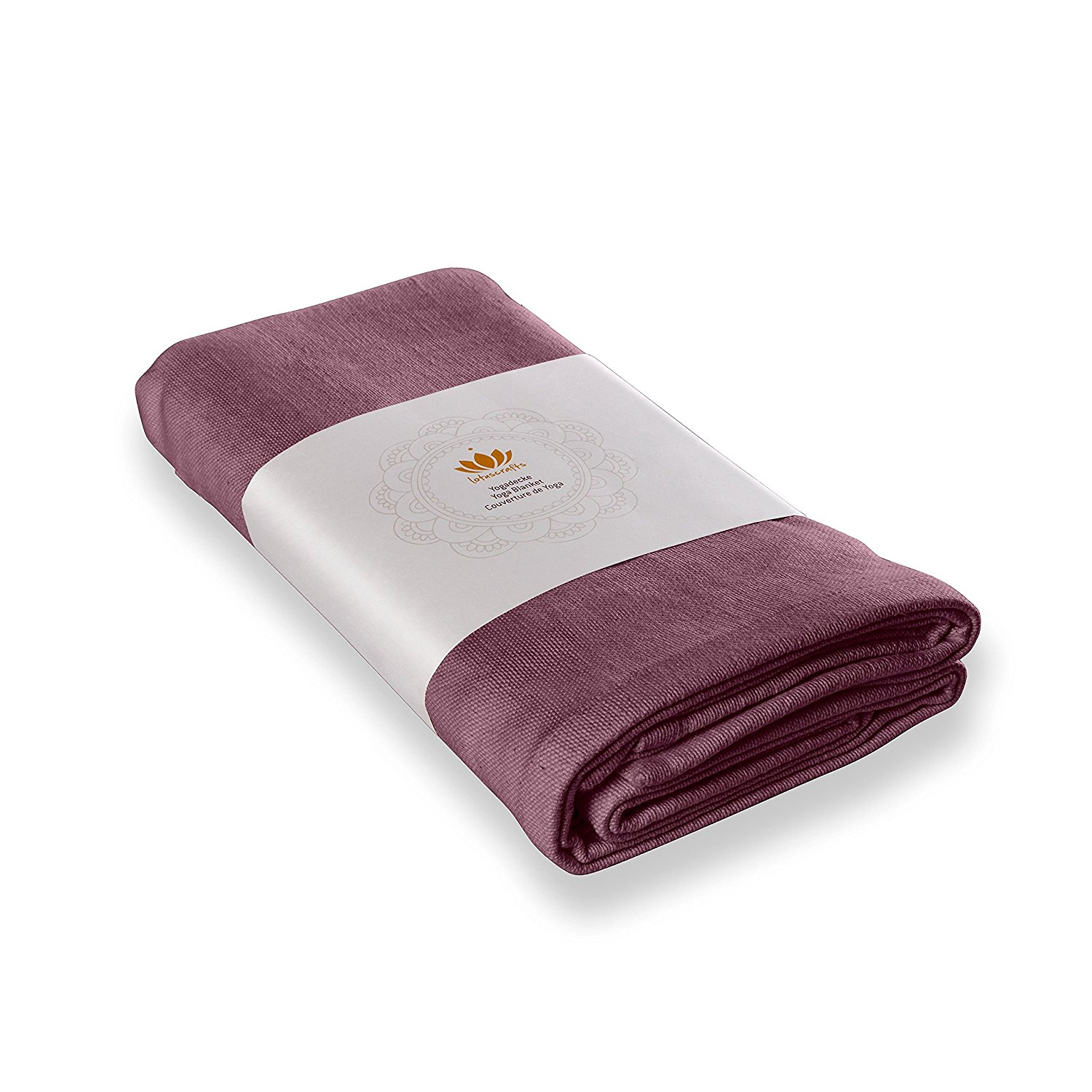 LOTUSCRAFTS - Couverture de yoga « Savasana » coton