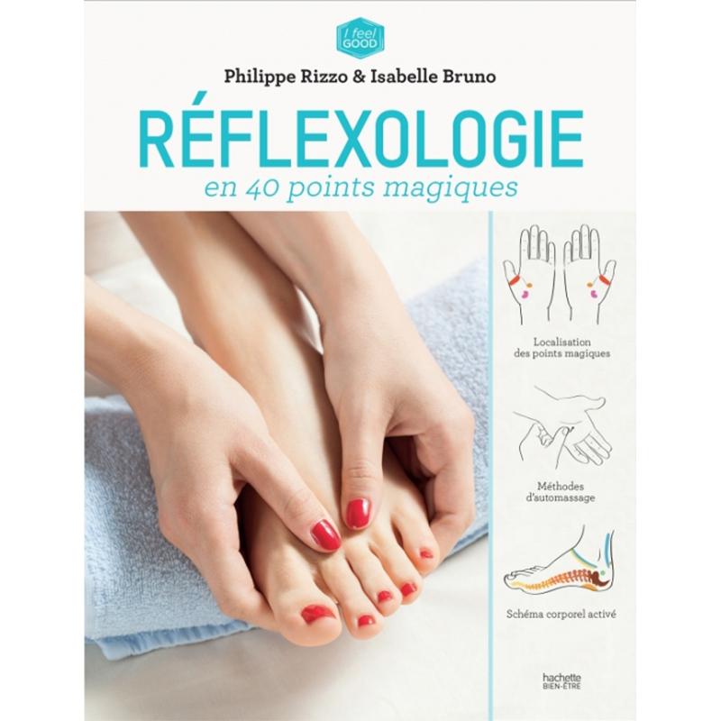 PHILIPPE RIZZO & ISABELLE BRUNO - Réflexologie anti-stress en 40 points magiques