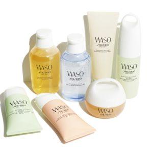 Waso by Shiseido, Waso, Shiseido, produits waso, nouvelle collection Shiseido, Collection Waso, Holissence, Produits respectueux de la nature,