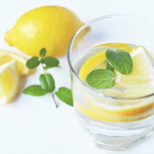 eau, citron, santé, bien être, hydratation, detox, holissence