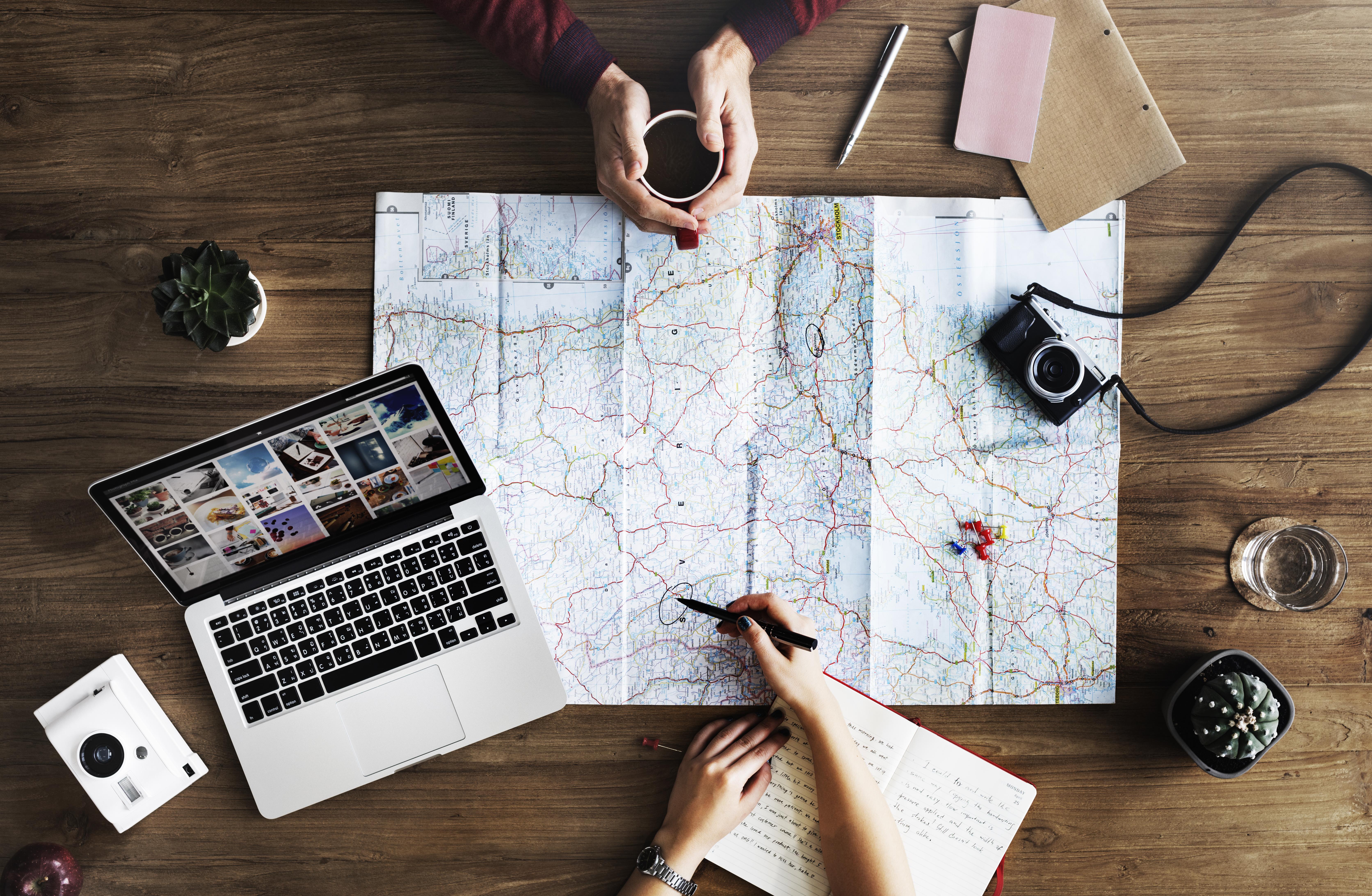 Préparer son voyage, voyage, conseils, préparer son voyage, applications voyage, holissence