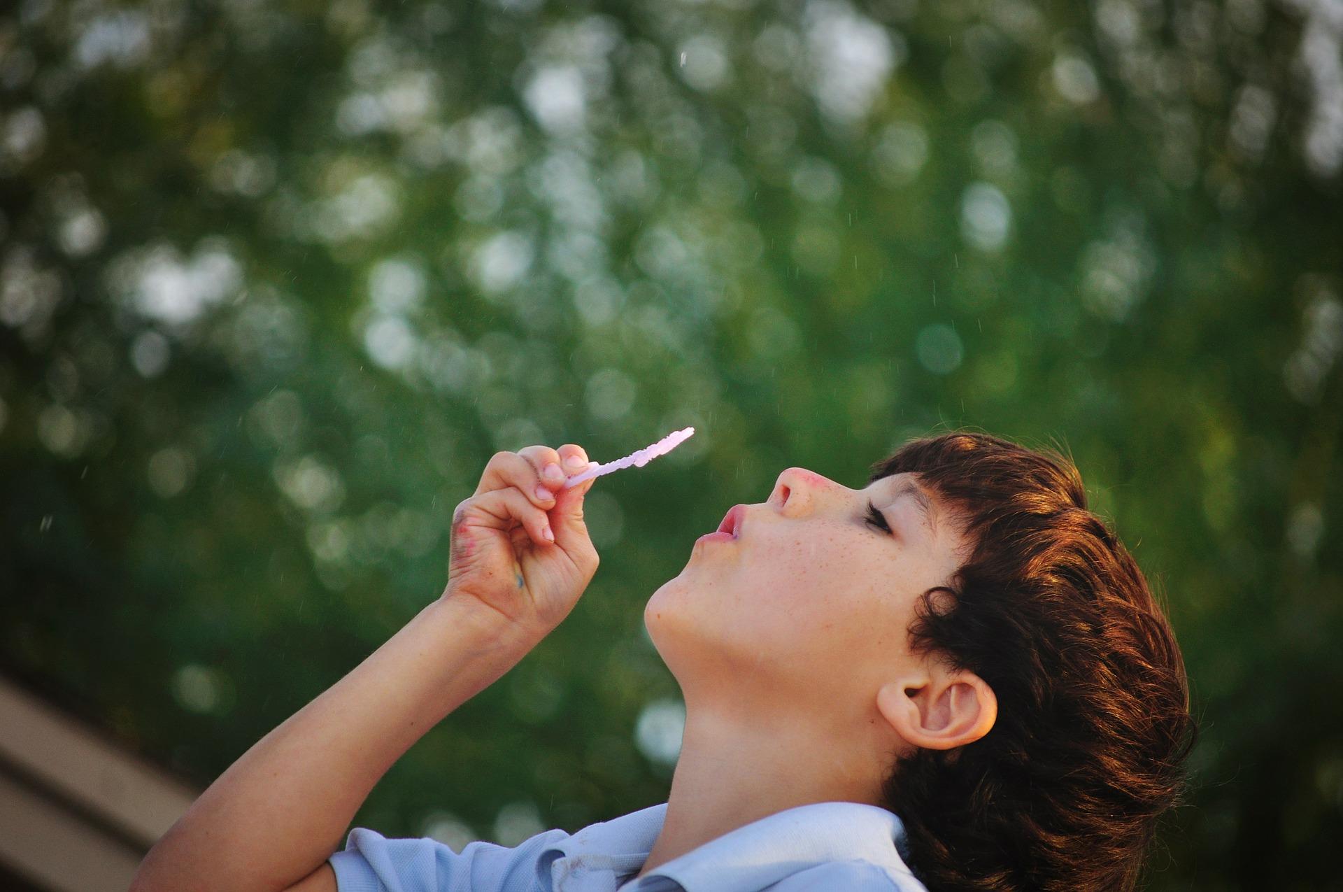 Enfant bulles sophrologie