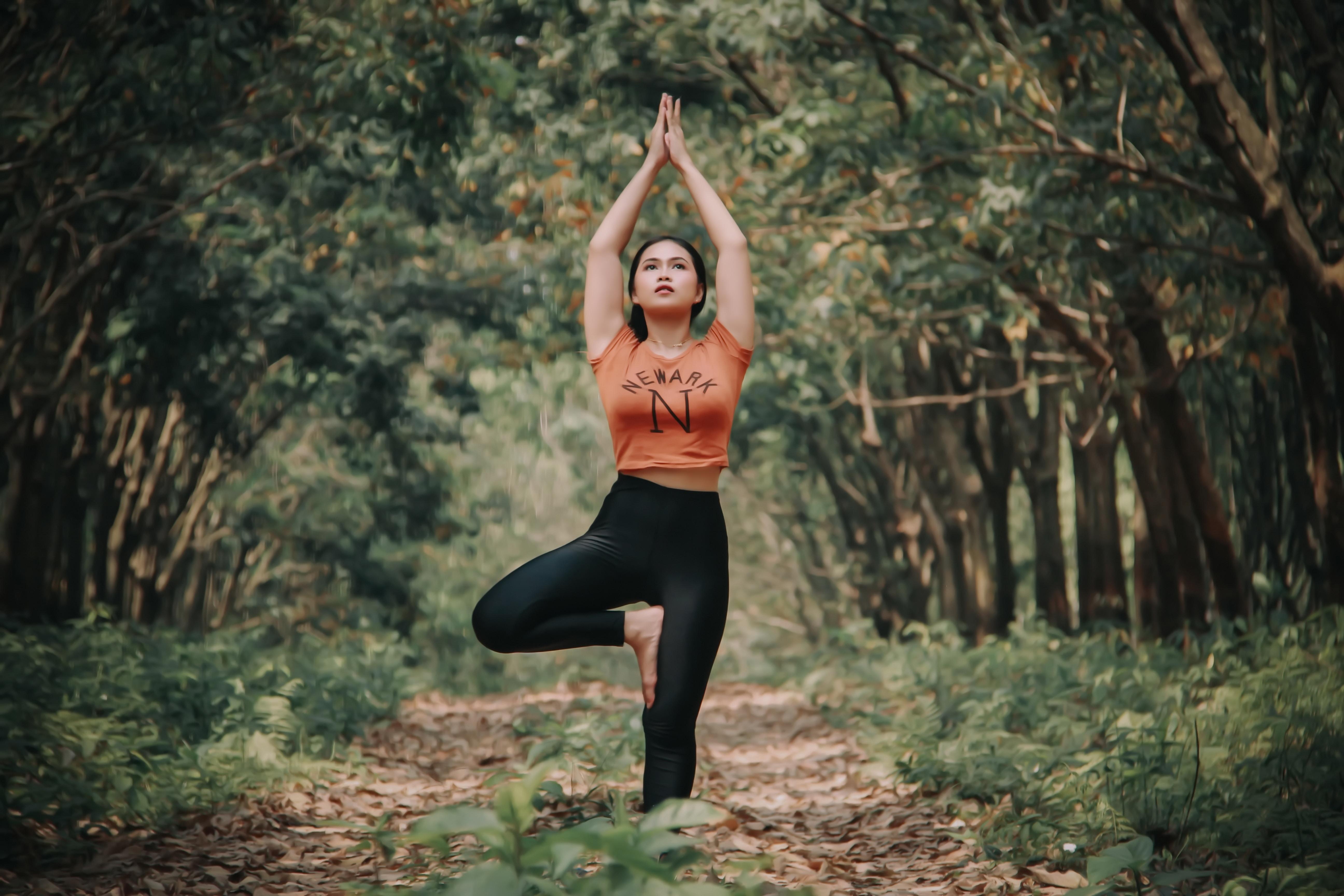 Yoga arbre